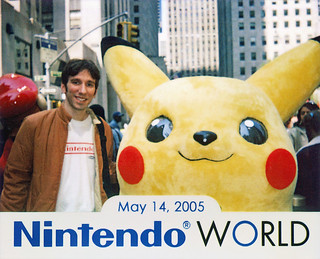 Nintendo World Store grand opening, NYC 5/14/05
