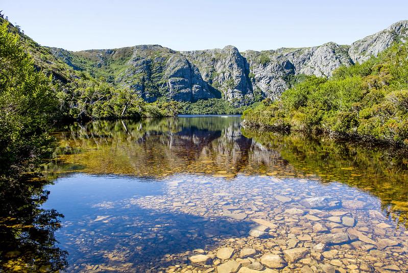 Crater Lake Tasmania