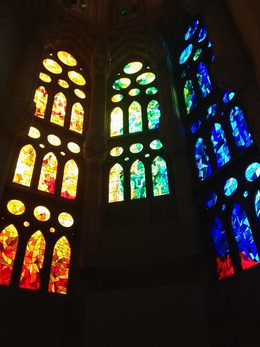 Sagrada Familia Mosaikfenster
