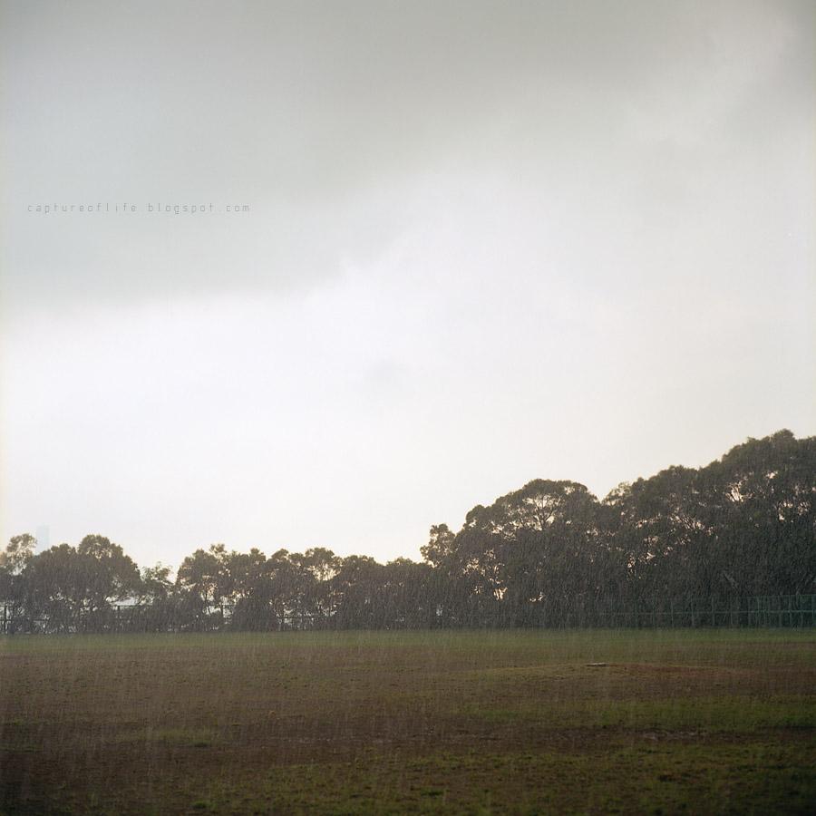 going to rain