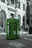 Green Phone Boxes by Dan Gilbert Photography