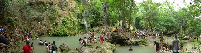 Panoramic View of Batlag Falls