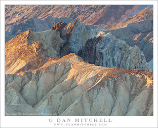Morning Light, Badlands Terrain