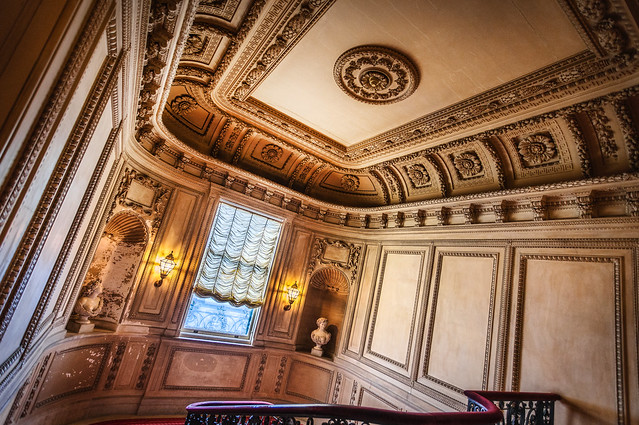 Vanderbilt Mansion Staircase