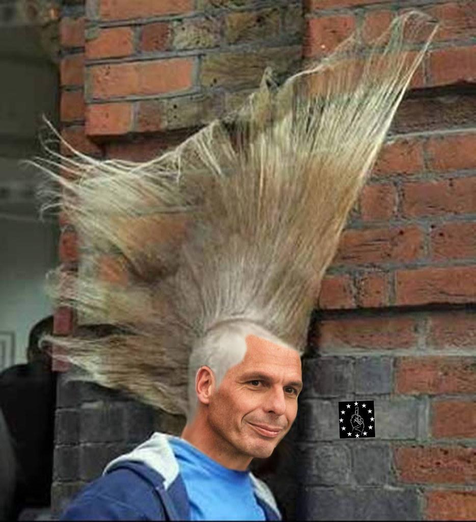 Причёски как у петухов