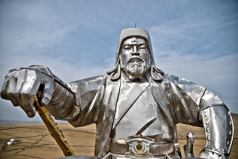 Genghis Khan Equestrian Statue