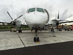 Air Rarotonga Saab 340 @ Aitutaki