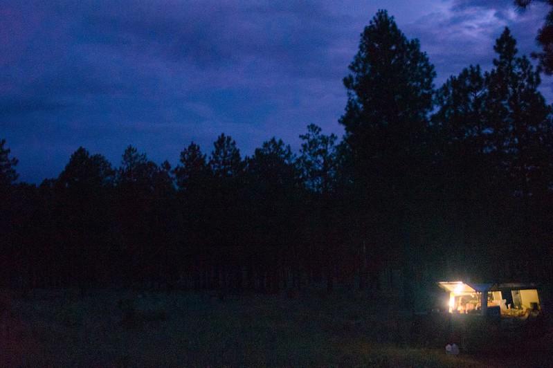 Carmelita at Night, Flagstaff