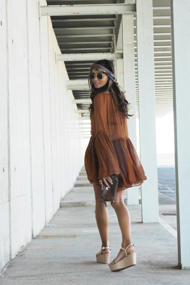 boho summer dress coohuco 7