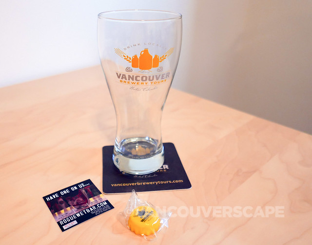 Vancouver Brewery Tour/gift bag