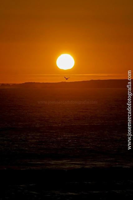 Costa #Galicia #atardecer #Sony #A7 lente Sony 70-200