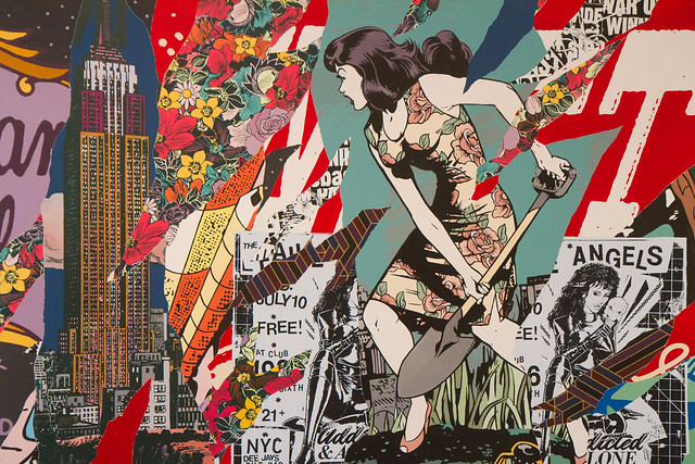 Faile, Brooklyn Museum