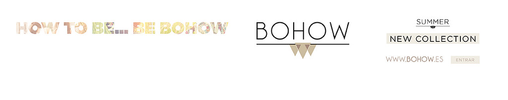 BOHOW shop on line. Rebajas & New Collection Sumer 2015