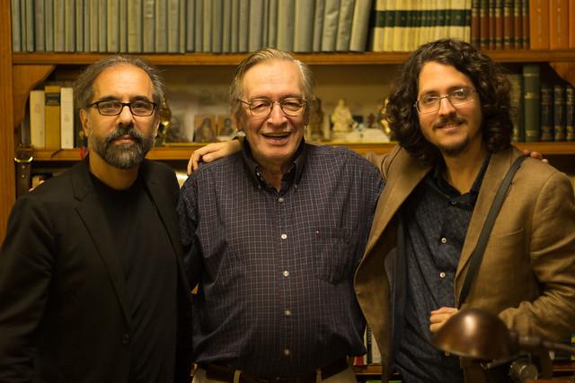 Com Wagner Carelli e Josias Teófilo - Foto: Mauro Ventura