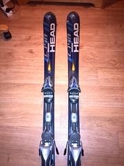 Lyže HEAD C140, Carbon Jacket, 155 cm - titulní fotka