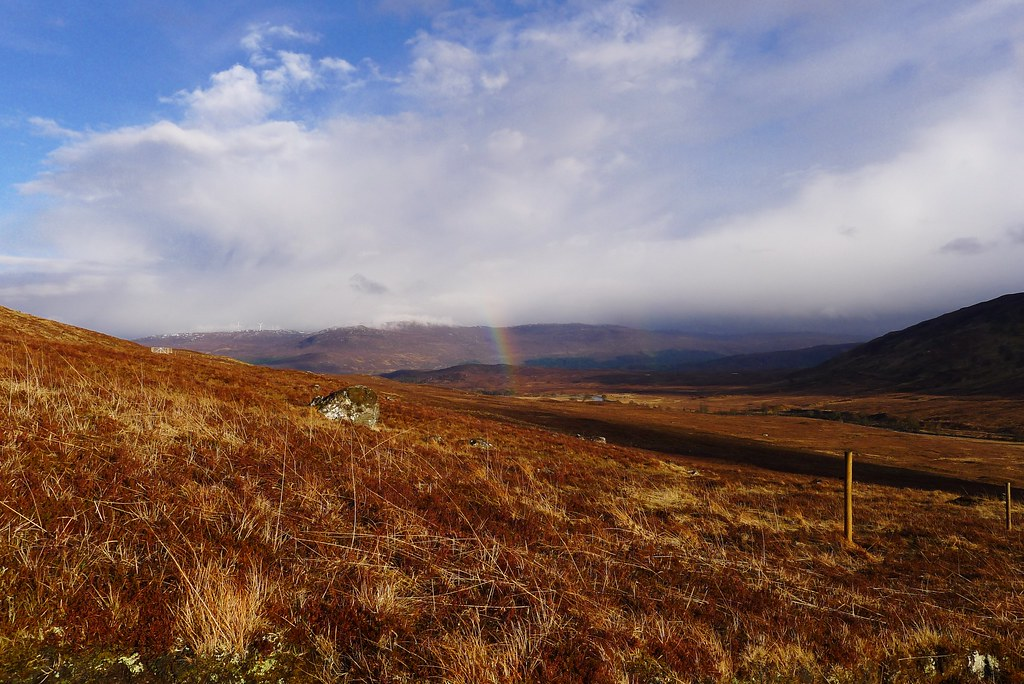 Rainbow in Coire Doe