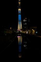 20130428 東京玩第二天 344 sky tree 東京スカイツリー 夜景 十間橋
