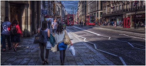 Walking down The Strand - (explored)