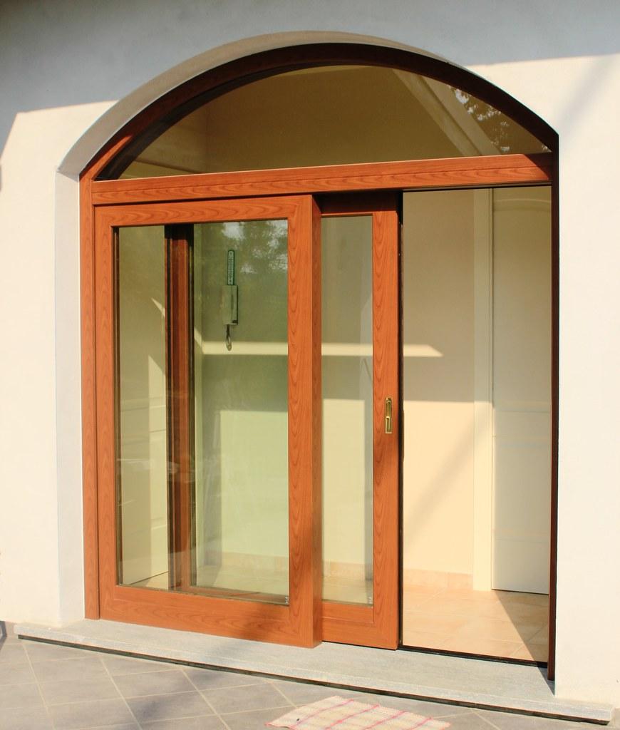 Galleria foto alzanti scorrevoli con tecnologia agb climatech - Sopraluce porta ...