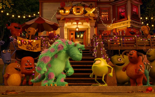 A relatively good time is had by most in MONSTERS UNIVERSITY.