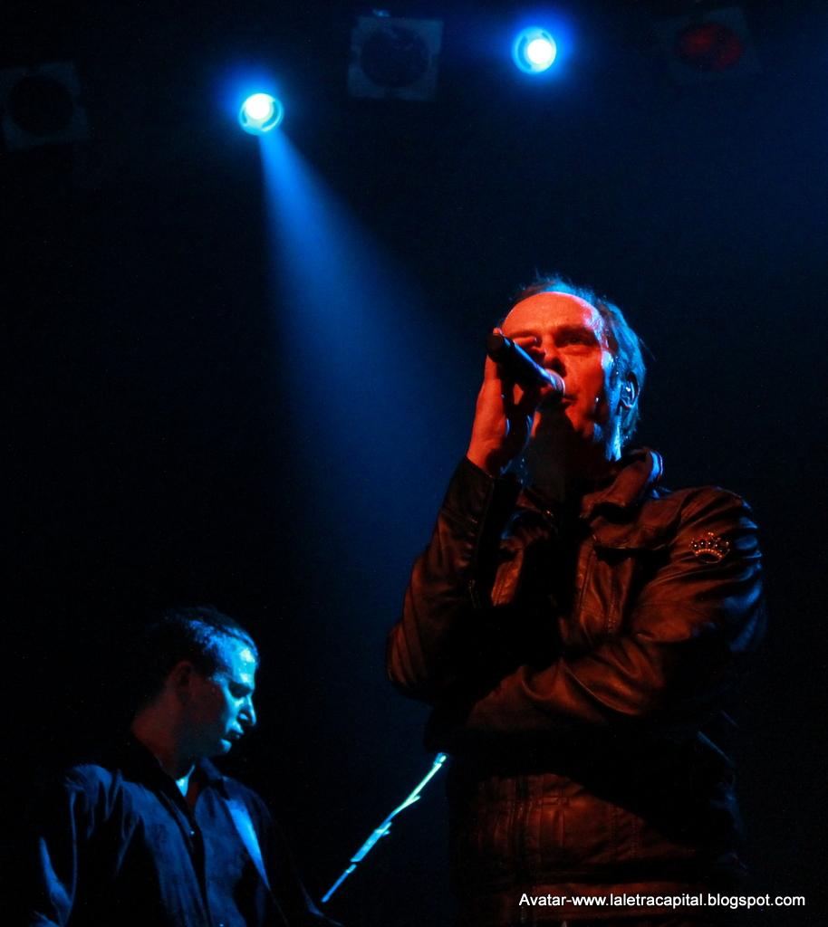 PETER MURPHY + RADAR, 29 de mayo de 2013, Sala Arena, Madrid