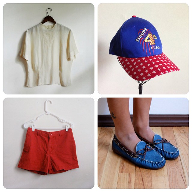 How to Wear Vintage • Happy Fourth of July!