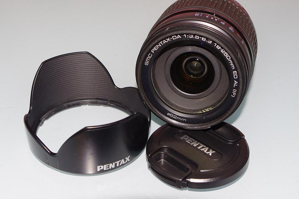 【開箱】舊鏡新開 DA 18-250
