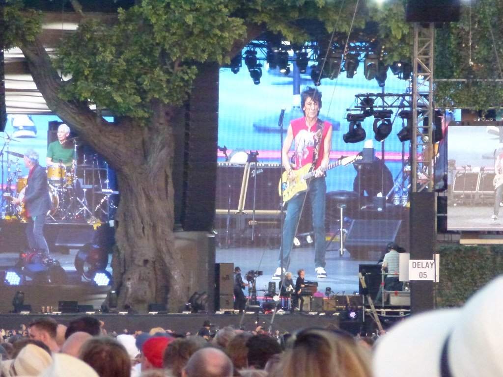 Rolling Stones Hyde Park July 2013