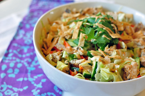 Asian Chicken Salad 4