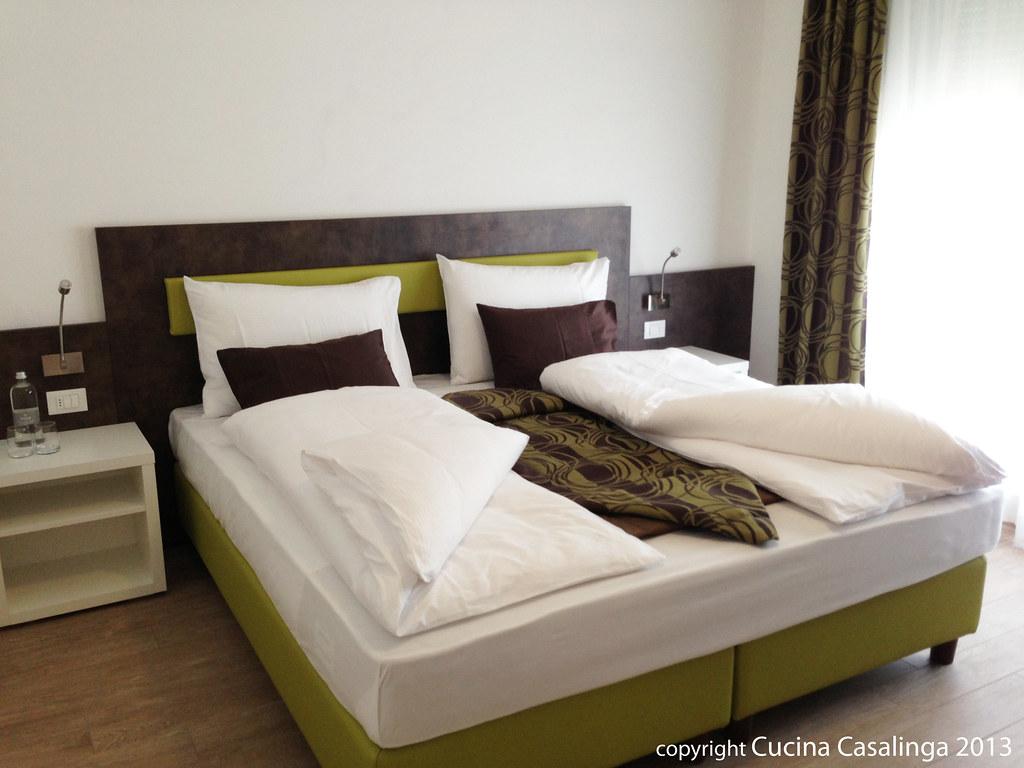 City Hotel Meran - Schlafzimmer