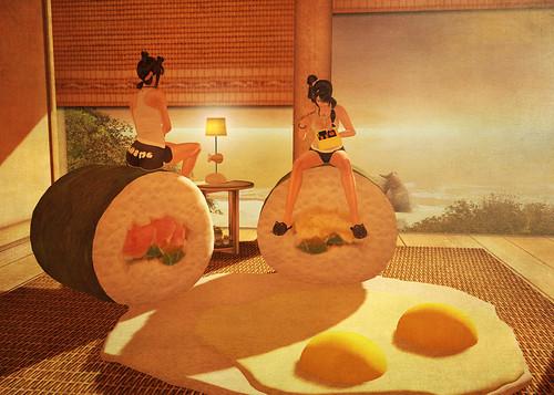 Sushi Sunny Side Up