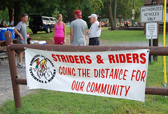 The Striders banner