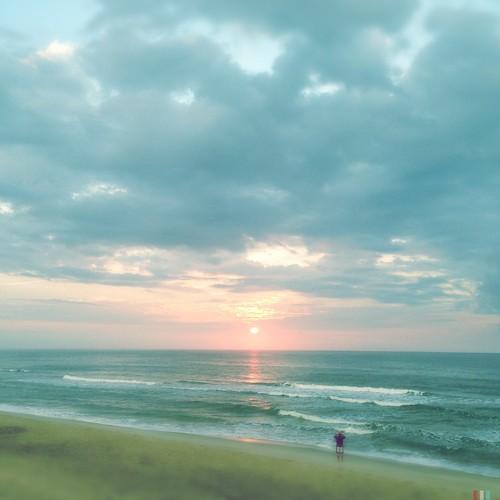 summer sun beach sunrise nc memory kurebeach hss hipstamatic flipmode79 americanalens blankofreedom13film