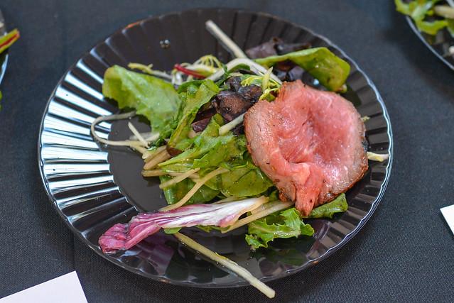 Phorage rare beef salad