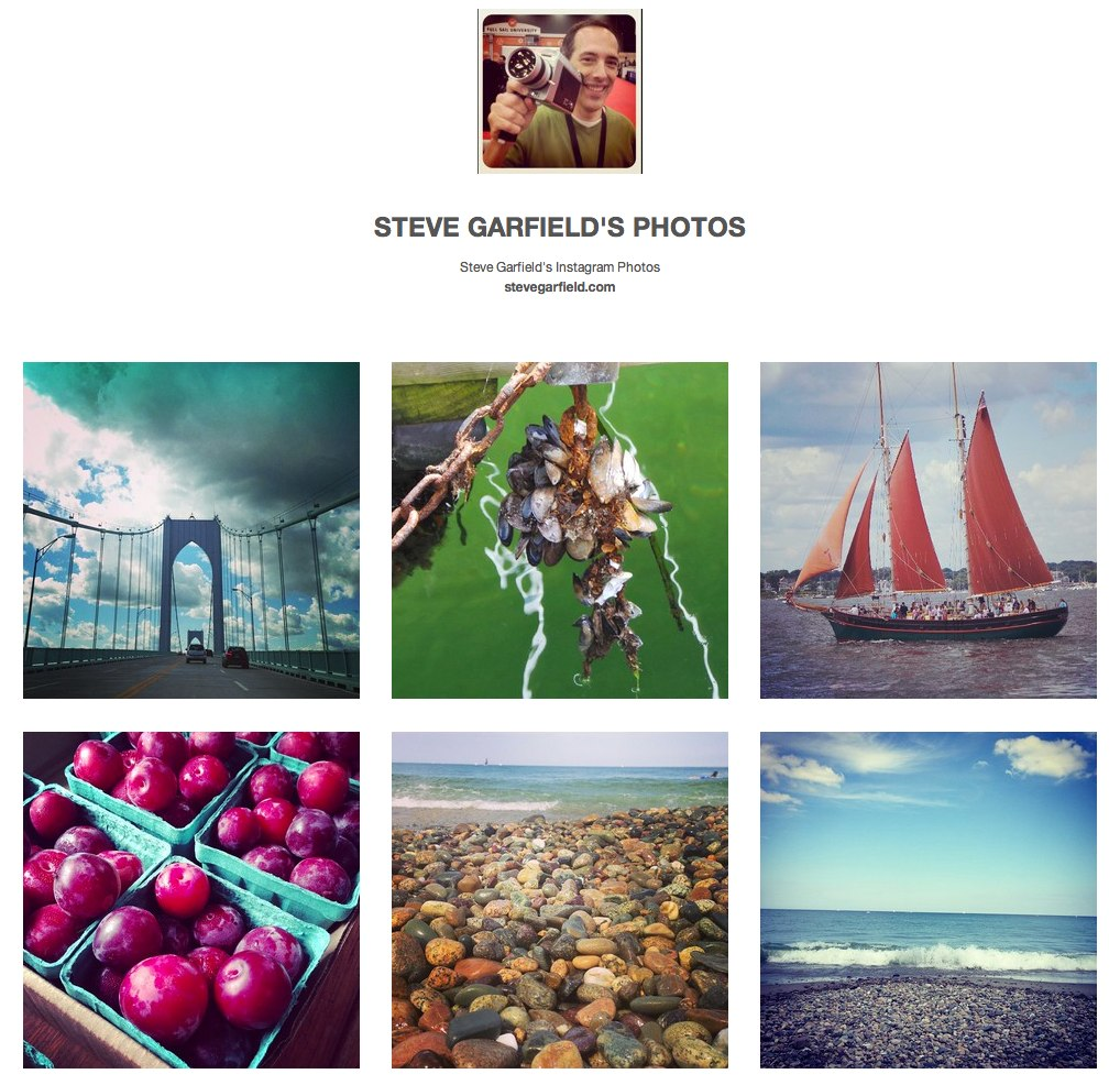 Steve Garfield's Instagram Photos for Sale