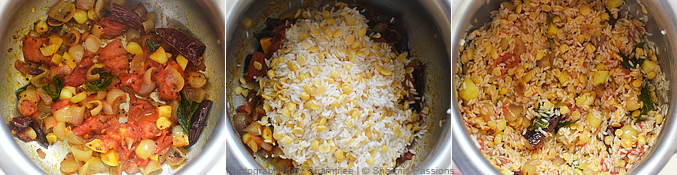 Arisi Paruppu Sadam Recipe - Step2