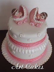 Baby Shower Cakes Ideas For Twins