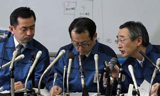Tepco employees at Fukushima Daiichi