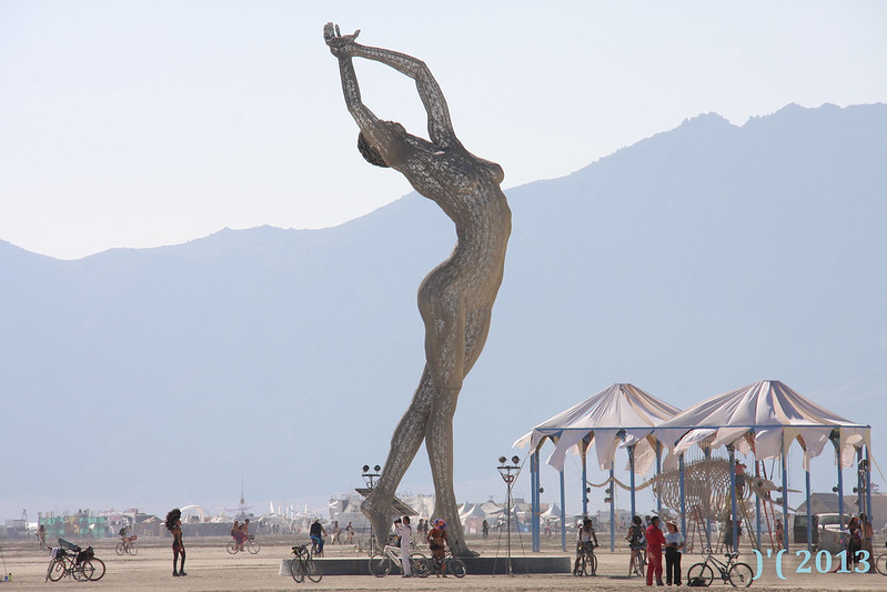 Burning Man 2013 )'( DVSROSS