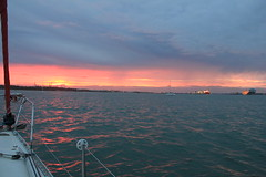 Calshot sunset