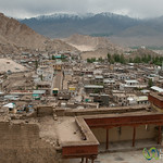 View of Leh from Leh Palace - Ladakh, India