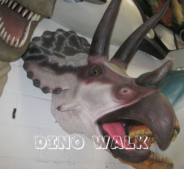 Animatronic Triceratops Head for Sale