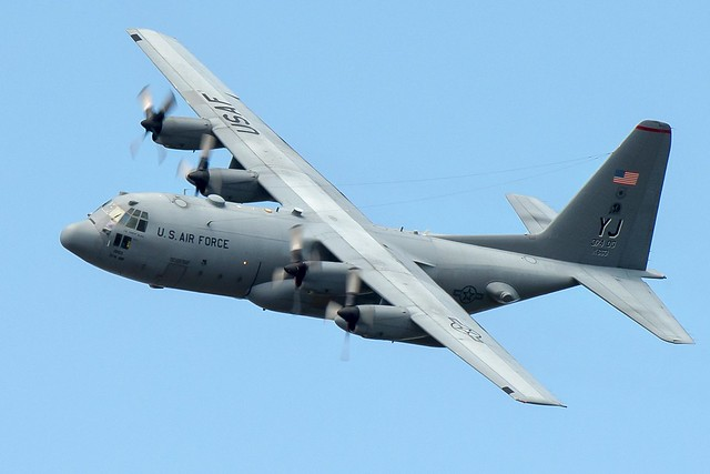 Photo:C-130 training mission By:Official U.S. Air Force