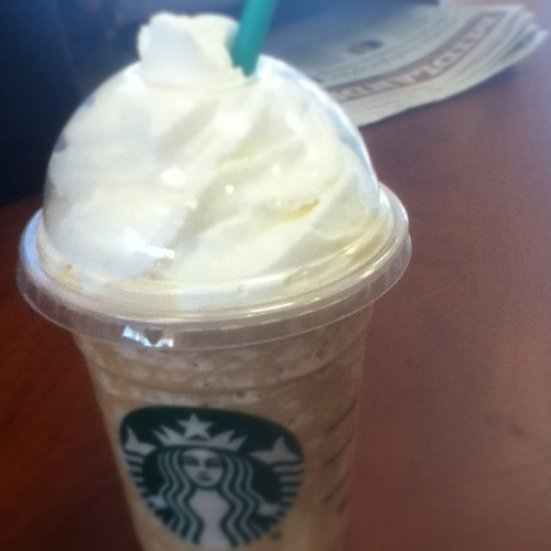 Just a little treat. #starbucks #coffelover4eva