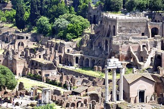 The Roman Forum from Above