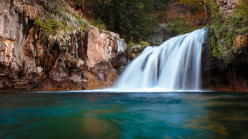 longexposure arizona cliff water river waterfall strawberry crystal diving clear le payson fossilcreek gilacounty tontonationalforrest javierpantoja