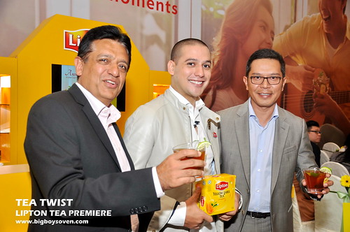 TEA TWIST Lipton Tea Premiere 1