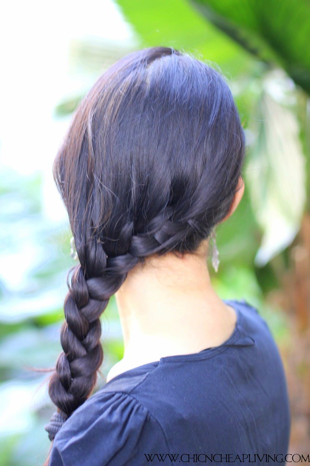 Side braid full view by Chic n Cheap Living