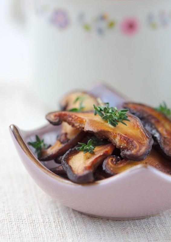 roasted shitake