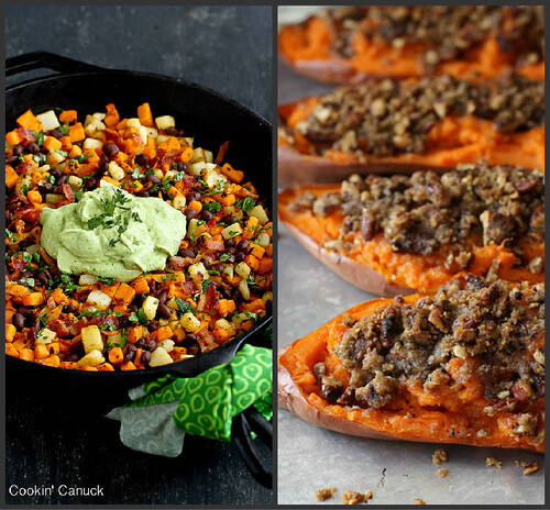 Cookin 39 canuck what 39 s cookin 39 best sweet potato recipes for List of entree dishes